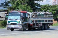 Camión del oxígeno de Maeping Imágenes de archivo libres de regalías