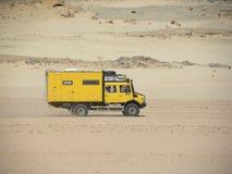 Camión del safari de Argelia Imagenes de archivo