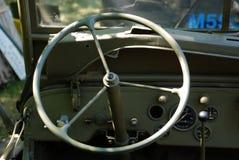 Camión del tablero de instrumentos WW2 Fotografía de archivo