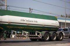 Camión del tanque de la melaza de Thai Molaz Company fotos de archivo