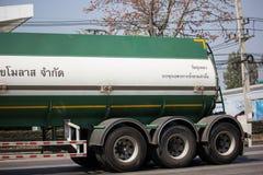 Camión del tanque de la melaza de Thai Molaz Company imagen de archivo libre de regalías