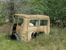 Camión en Chernóbil Imagen de archivo
