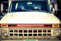 Camión envejecido Front Closeup Foto de archivo libre de regalías