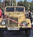 Camión ligero GAZ-69 Foto de archivo