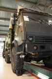 Camión militar grande Fotografía de archivo libre de regalías