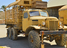 Camión militar ruso Imagenes de archivo