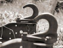 Camión oxidado del gancho del remolque foto de archivo libre de regalías