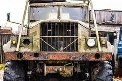 Camión oxidado viejo Imagen de archivo libre de regalías
