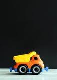 Camión plástico del juguete Imagen de archivo libre de regalías