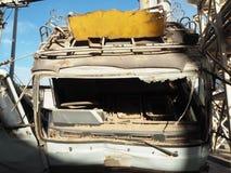 Camión quebrado Foto de archivo libre de regalías
