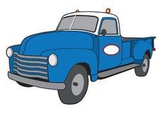 Camión retro del servicio de la historieta Fotos de archivo libres de regalías
