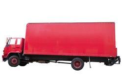 Camión rojo Imagenes de archivo