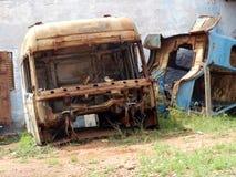Camión viejo de las reses muertas Fotografía de archivo libre de regalías