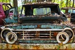 Camión viejo del pedazo foto de archivo libre de regalías