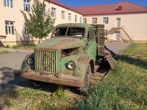 Camión viejo del shool del vintage Fotos de archivo libres de regalías