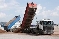 camión volquete de la Multi-tonelada Fotografía de archivo libre de regalías