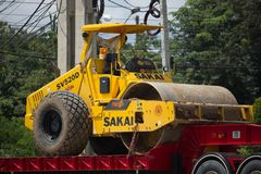 Camión volquete del remolque de Payawan Transport Company Fotografía de archivo libre de regalías