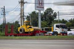 Camión volquete del remolque de Payawan Transport Company Fotos de archivo libres de regalías