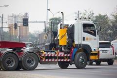 Camión volquete del remolque de Payawan Transport Company Foto de archivo
