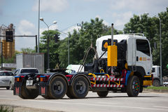 Camión volquete del remolque de Payawan Transport Company Imágenes de archivo libres de regalías