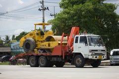 Camión volquete del remolque de STV Civil Transport Company Foto de archivo libre de regalías