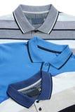Camice di polo dell'uomo Fotografie Stock Libere da Diritti