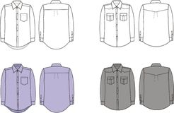 camicia royalty illustrazione gratis
