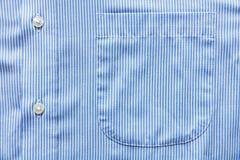 Camicia blu Fotografia Stock Libera da Diritti