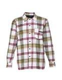 Camicia Checkered per gli uomini Immagini Stock Libere da Diritti