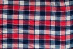 Camicia controllata Fotografia Stock
