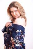 Camicia da notte della donna Fotografia Stock