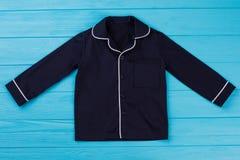 Camicia dei pigiami con il taschino da giacca Fotografia Stock Libera da Diritti