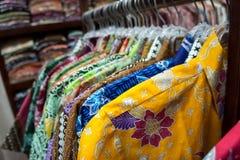 Camicia del batik Fotografia Stock