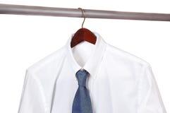 Camicia e legame Fotografie Stock Libere da Diritti