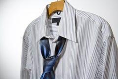 Camicia e legame di affari Fotografia Stock Libera da Diritti