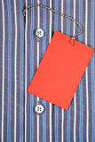 Camicia ed etichetta Immagine Stock Libera da Diritti