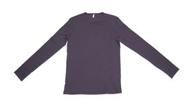 Camicia lunga del manicotto Fotografia Stock