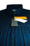 Camicia maschio piacevole Fotografia Stock