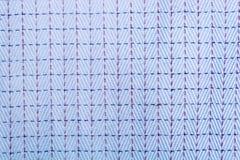 Camicia quadrata blu Fotografia Stock Libera da Diritti
