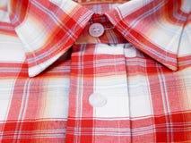 Camicia rossa Fotografie Stock