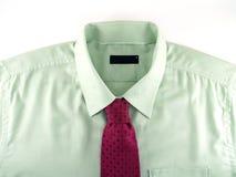 Camicia verde Fotografie Stock