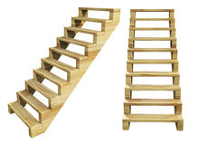 Camier Stairs Royalty Free Stock Photography