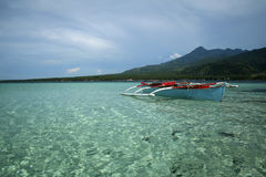 Camiguin island clear sea philippines Stock Images