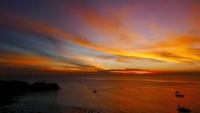 Camiguin Island Sunset  stock footage