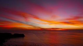 Camiguin Island Sunset  stock video