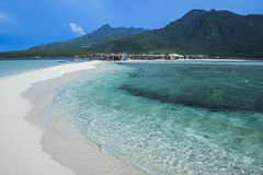 Camiguin island white beach philippines Stock Photo