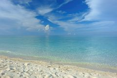 White beach Philippines. Camiguin island white beach philippines Royalty Free Stock Images