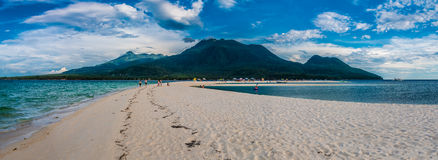 Camiguin Island From White Island Stock Photo