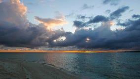 Camiguin White Island Sunrise  stock video