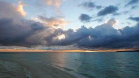Camiguin White Island Sunrise Time Lapse  stock video